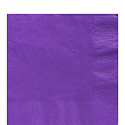 Purple Luncheon Napkins - 3ply Paper