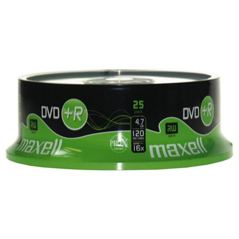 Maxell DVD+R spindle - pack of 25