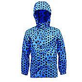 """Regatta Kids Printed Pack-It Jacket Oxford Blue - 32"""""""
