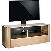 Alphason Hugo 1260 Cantilever Stand for TVs up to 65 inch - Light Oak