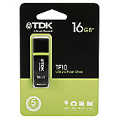 TDK USB 2.0 Flash Drive 16GB - Black