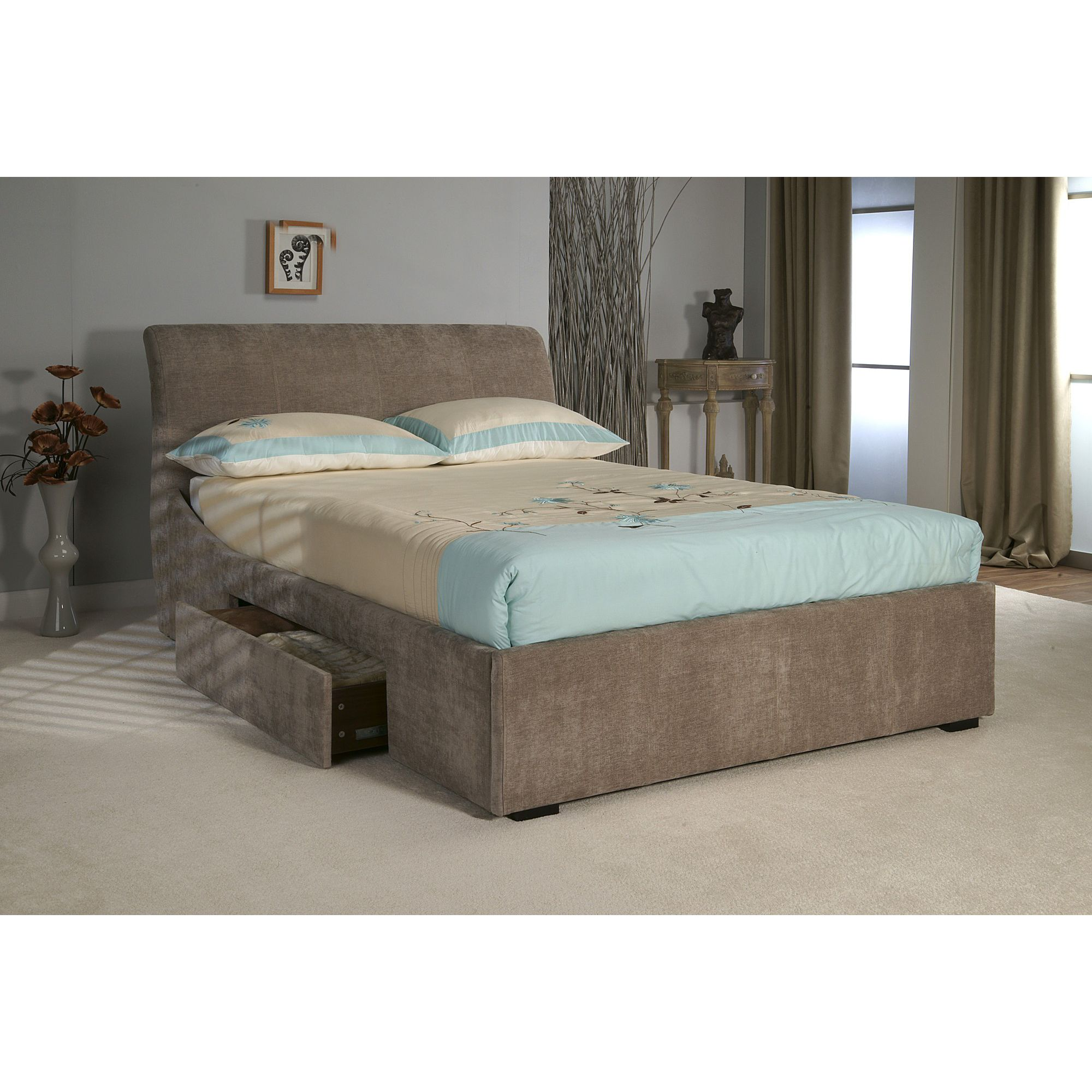 Limelight Oberon Bedstead with Storage - Super King at Tesco Direct