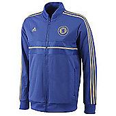 2012-13 Chelsea Adidas Anthem Jacket (Blue) - Blue