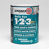 Zinsser Bulls Eye 1-2-3 Plus - 2.5 L