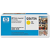 Hewlett-Packard LaserJet Print Cartridge with Smart Printing Technology Yellow