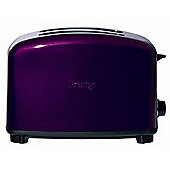 Prestige Traditional 2 Slice Toaster in Purple