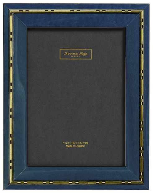 Addison Ross Marquetry Studio Frame in Rosso - 5 in x 7 in