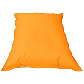 ValuFurniture Large Slab Orange Bean Bag