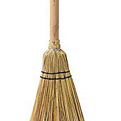 Parlane Natural Willow Wooden Sweeper Broom - 42cm
