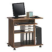 Maja- Möbel Computer Desk with Keyboard Shelf - Merano