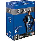 House 1-4 (DVD Boxset)