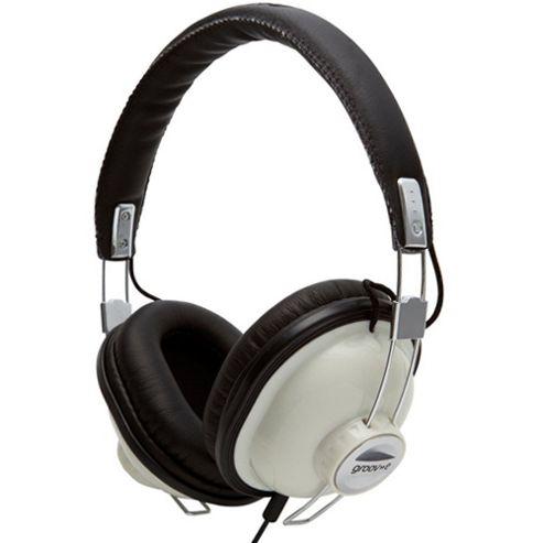 Groov-E Retro Headphones - Cream
