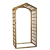 Bingham Wooden Lattice Garden Arch, 2.38m