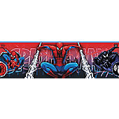 Spiderman, Self Adhesive Bedroom Border