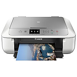 Canon MG5753, Wireless All-in-One Inkjet Colour Printer, A4 - White (Pixma Cloud Link ready)