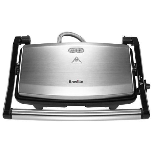 buy breville vst049 2 slice sandwich press brushed. Black Bedroom Furniture Sets. Home Design Ideas