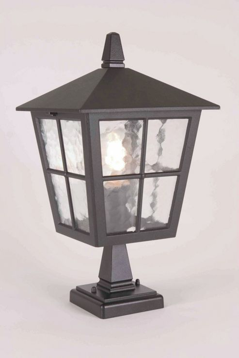 Elstead Lighting Canterbury Pedestal Lantern