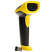Wasp WWS500 Freedom Cordless Scanner Barcode Scanner Black/Yellow