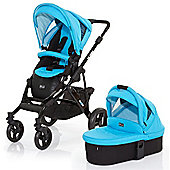 ABC Design Mamba 3 in 1 Pushchair & Carrycot (Black/Rio)
