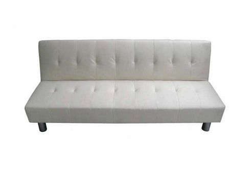 Home Zone Serena 3 Seater Convertible Sofa Clic Clac Bed - Cream