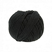 DMC Natura Just Cotton Yarn - Noir