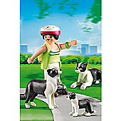 Playmobil - Border Collies with Puppy 5213
