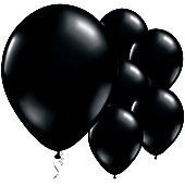 Onyx Black Balloons - 11' Latex Balloon (100pk)