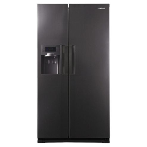 Samsung RSH7UNMH Side by side fridge freezer, Energy Rating: A+, Width 91.2cm. Manhattan Grey