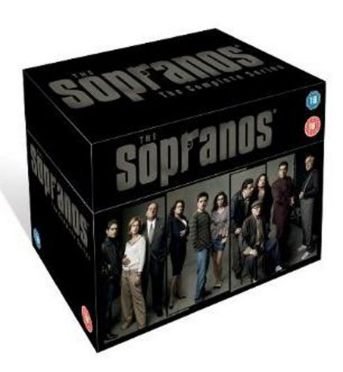 The Sopranos - Series 1-6 - Complete  (DVD Boxset)
