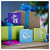 Neon Christmas Cards, 20 pack