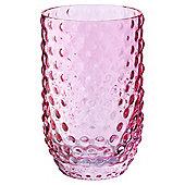Tesco Handmade bobble glass