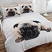 Pug Bedding, Single Duvet