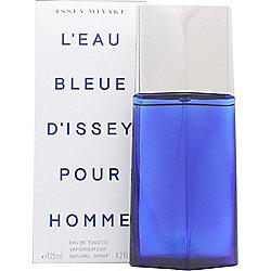 Issey Miyake L'Eau Bleue d'Issey Pour Homme Eau de Toilette (EDT) 125ml Spray For Men