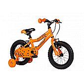 "Cuda Blox 14"" Wheel Boys Bicycle 4-6yrs Aluminium Orange"