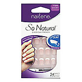 Nailene So Natural Artificial Nails Short 77359