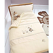 Mamas & Papas Zeddy & Parsnip Quilt and Pillowcase Set