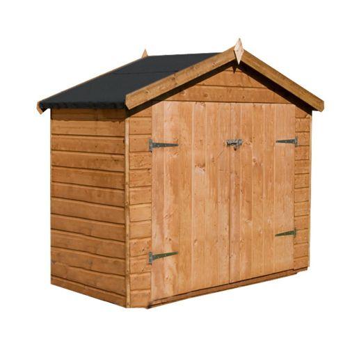 Buy shiplap bike store from our garden storage range tesco for Garden shed tesco