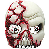Halloween Skull Mask - Bloody Half Face