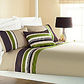 Dreams 'N' Drapes Curtina Harvard Quilt Set in Green - Single