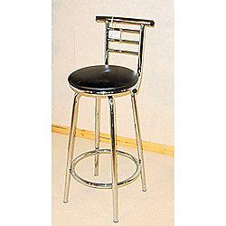 buy heartlands furniture chrome narrow back bar stool set. Black Bedroom Furniture Sets. Home Design Ideas