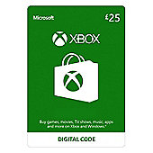 Xbox Live £25 GBP  Xbox One (Digital Download Code)