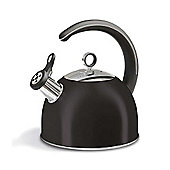 Morphy Richards - Accents 2.5 Litre Black Whistling Kettle