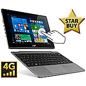 "Acer Aspire Switch 10.1"" Intel Atom Windows 10 Pro 2GB RAM 64GB SSD Tablet Silver"