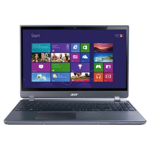 Acer Aspire Timeline Ultra M3 15.6-inch laptop, Intel Core i3, 4GB RAM, 320GB HDD, Windows 8, Black
