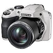"Fuji S8200 Digital Bridge Camera, White, 16MP, 40x Optical Zoom, 3"" LCD Scren"
