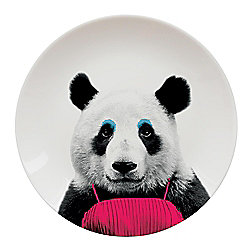 Wild Dining Dinner Plate, Panda