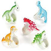 Dinosaur Rings for Children to Wear (6 Pcs)