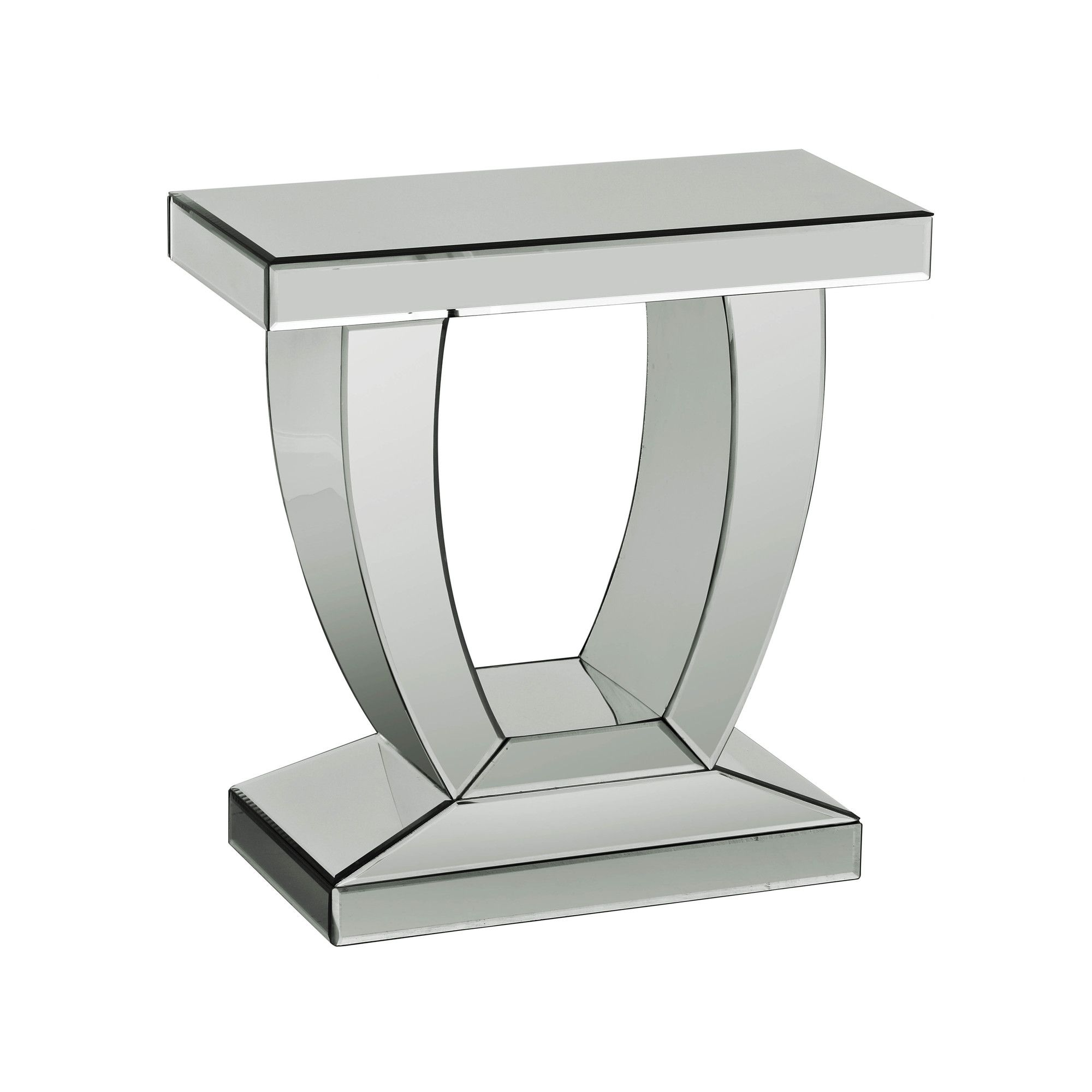 Premier Housewares Mirrored Side Table at Tesco Direct