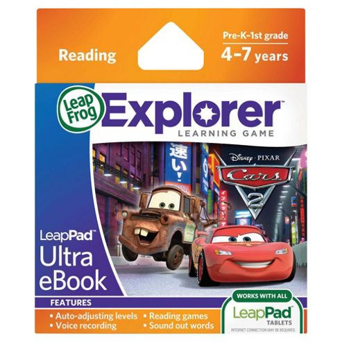 LeapFrog LeapPad(tm) Ultra eBook : Disney Pixar Cars 2 Project Undercover