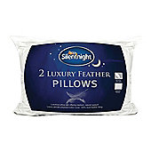 Silentnight Luxury Feather Pillow Pair